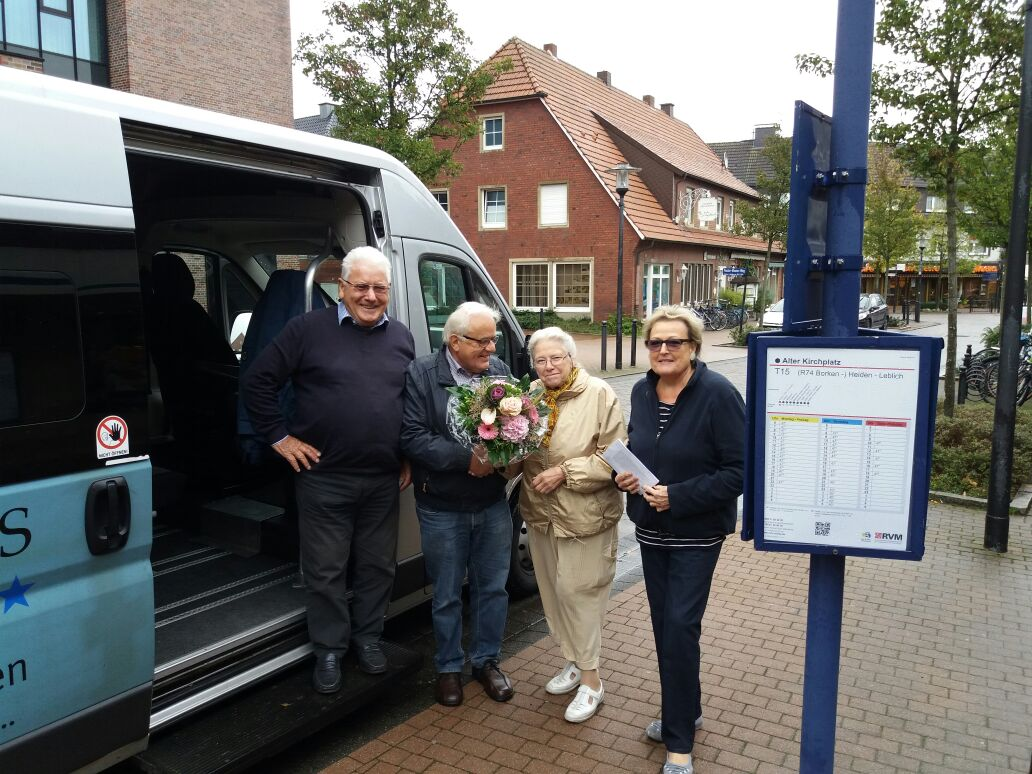 Bürgerbus-Borken - Fahrgast