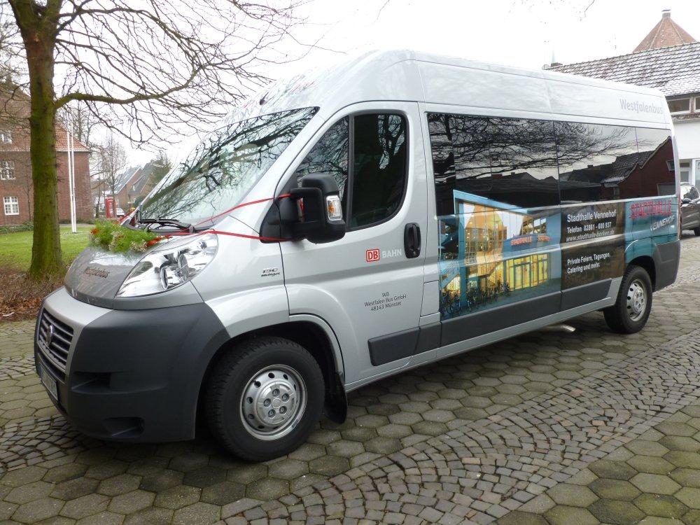Bürgerbus Borken Fahrzeug
