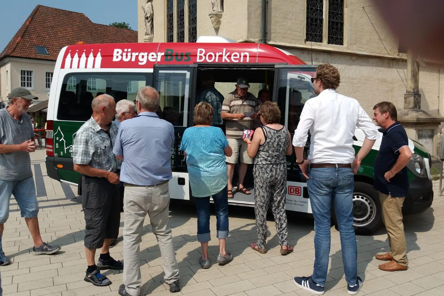 Der neue Bürgerbus für Borken