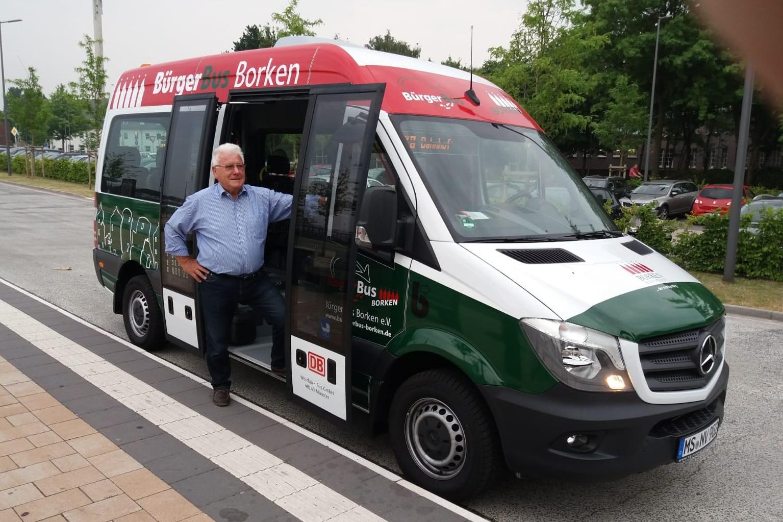 Jungfernfahrt Bürgerbus Borken
