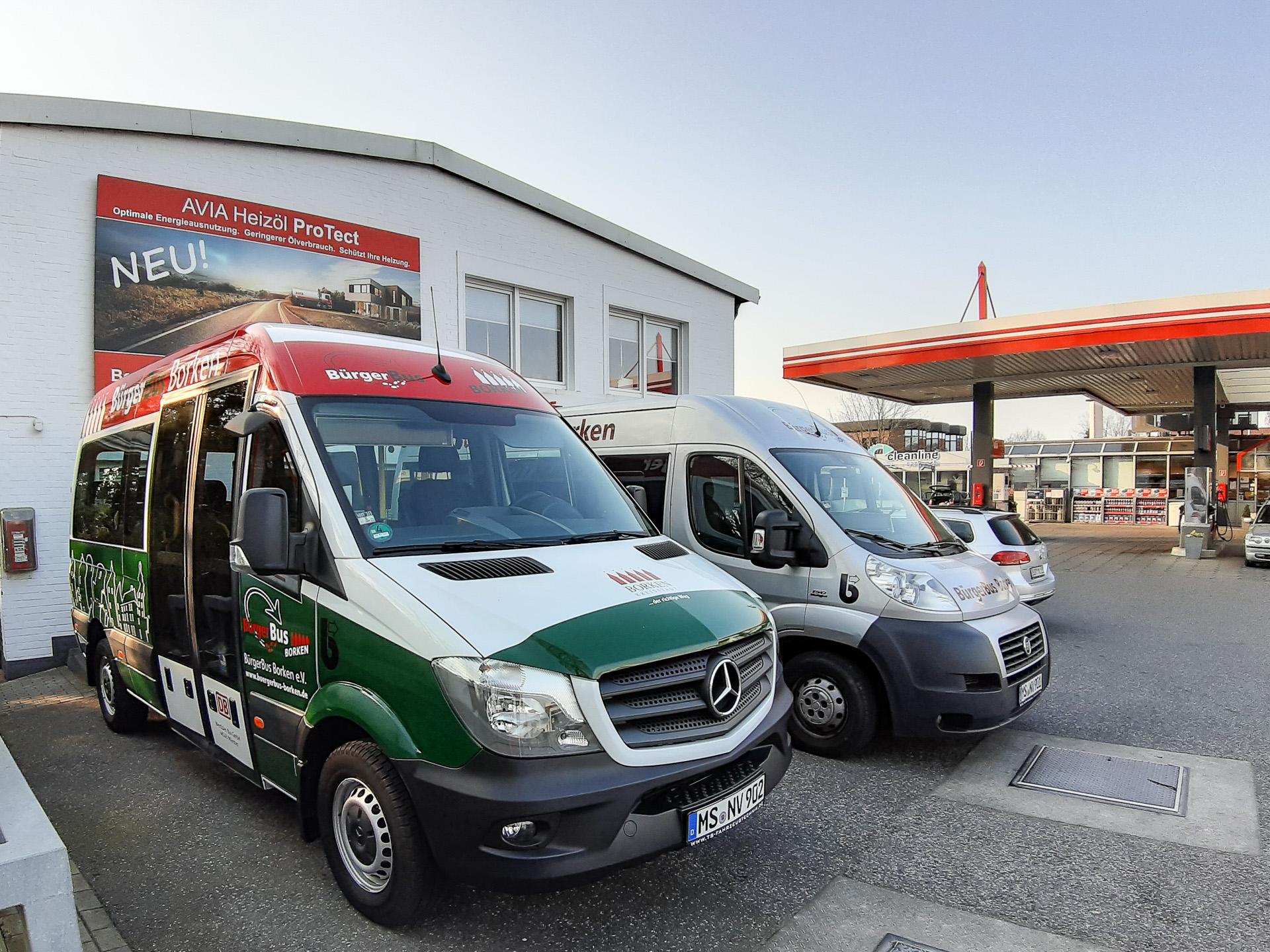 Bürgerbus Fahrzeuge